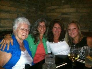 Three generations of Dorsett women