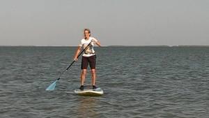 deb paddleboarding