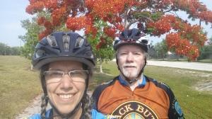 Keith Deb Cape Coral Bike Path 5-25-2014