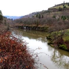 Klickitat River near Lyle WA