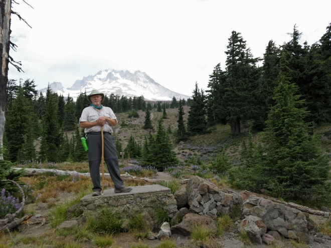 Old Timberline Cabin site