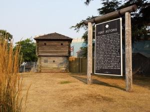 Fort Astoria in Astoria, Oregon