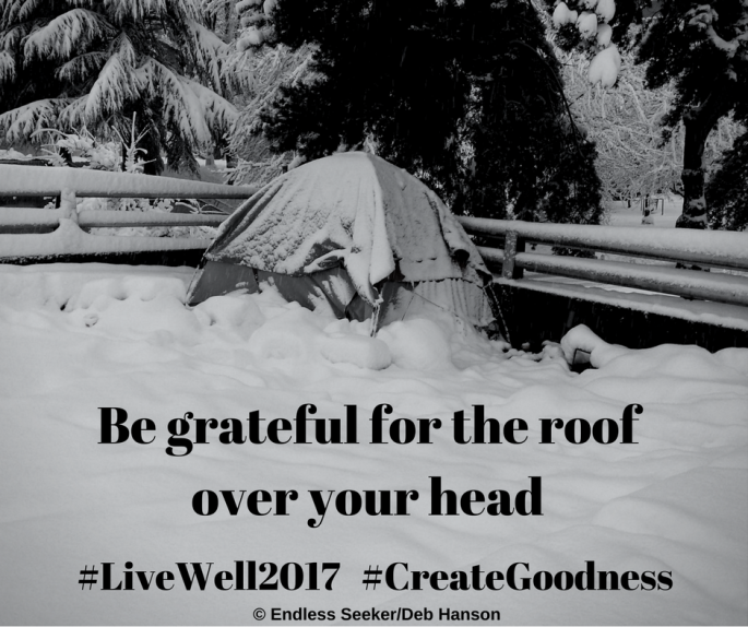 Day 74 roof on your head