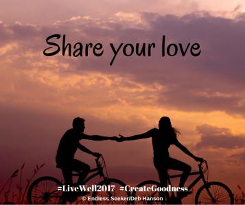 Day 124 share love