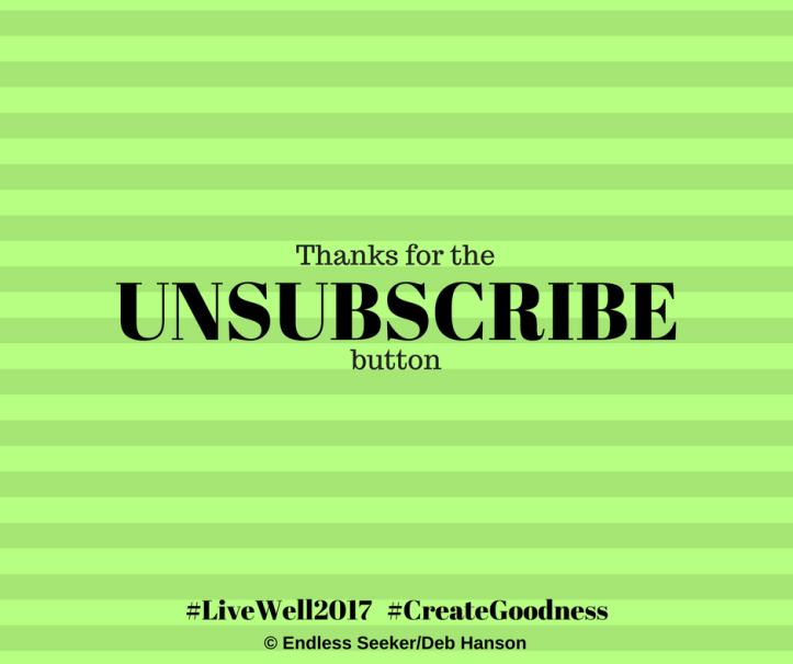 Day 159 unsubscribe
