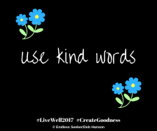 Day 206 use kind words