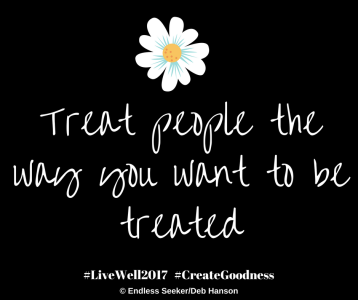 Day 209 treat people