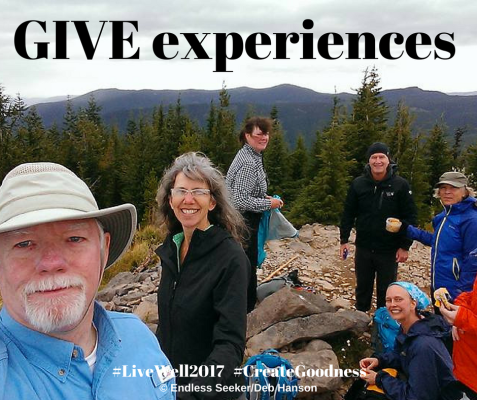 Day 357 experiences