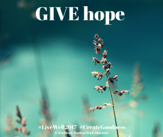 Day 358 give hope